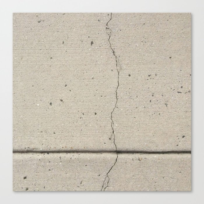 Real, Concrete, not Abstract Canvas Print