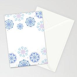 Les fleurs en cercle Stationery Cards