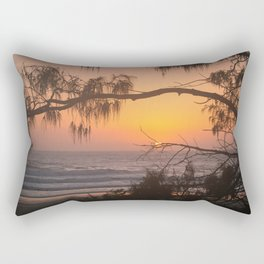 Exotic Sunrise Rectangular Pillow
