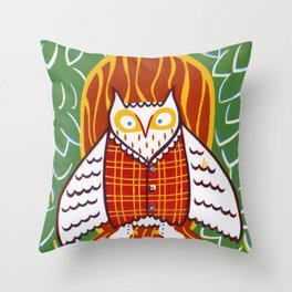 Archimedes Emerged Throw Pillow