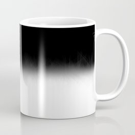 Black and White Split Fade Inverse Coffee Mug
