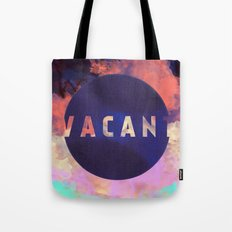 Vacant - Galaxy Eyes & Garima Dhawan Collaboration (VACANCY ZINE) Tote Bag