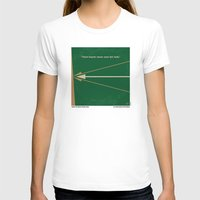 robin hood T-shirts featuring No237 My Robin Hood minimal movie poster by Chungkong