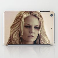 emma stone iPad Cases featuring Emma by LindaMarieAnson