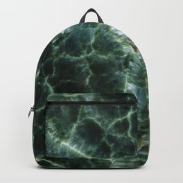 Abstract mineral texture Backpack