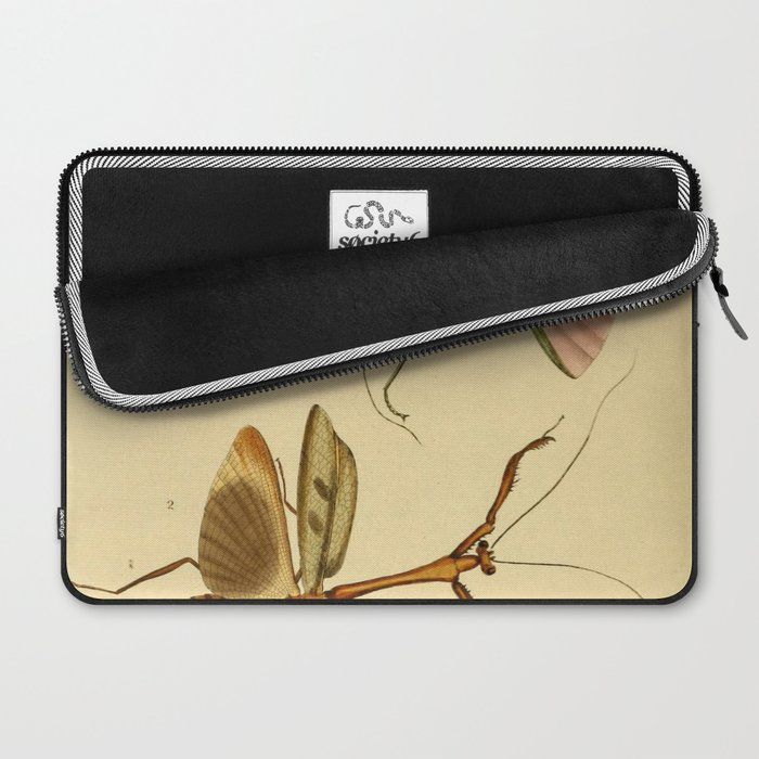 Naturalist Stick Bugs Laptop Sleeve