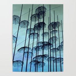SKG Umbrellas Poster