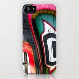 Eagles Eye Totem iPhone Case