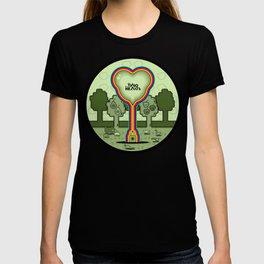 Two Balloon Unlocked Hearts T-shirt