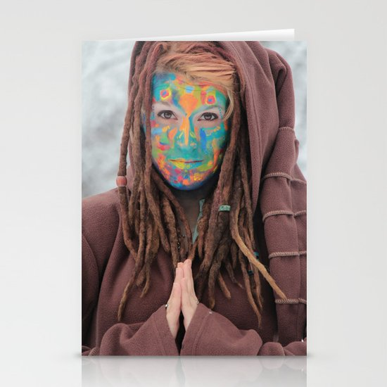 One of the Rainbow Warriors  Stationery Cards