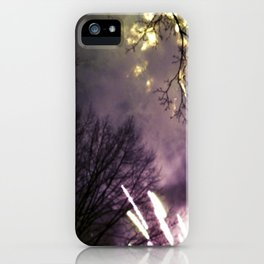 Fireworks at Central Park-NYC iPhone Case