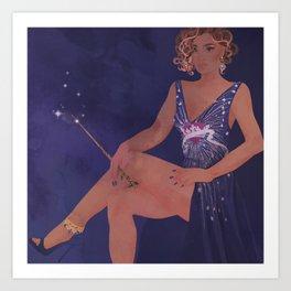 Magical Glamour Art Print