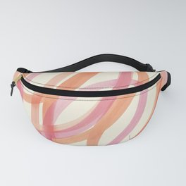 Valentine  #3 - Abstract Art Print Fanny Pack