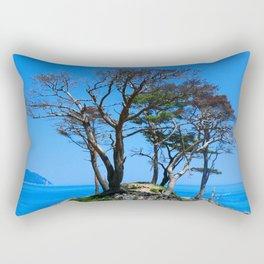 At the Brick of Loneliness Rectangular Pillow