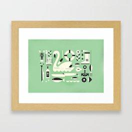 Lake ... Framed Art Print