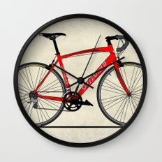 Specialized Racing Road Bike Wall Clock