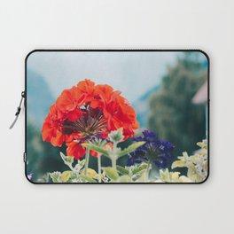 Red Flowers, Leavenworth Laptop Sleeve