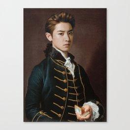 Chanyeol of EXO Canvas Print