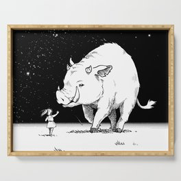 Edge of the universe: Warthog Serving Tray