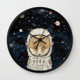 little space fox Wall Clock