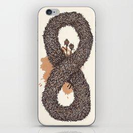 fur infinity iPhone Skin