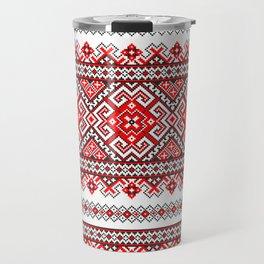 Cross stitch pattern Travel Mug