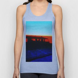 Landrover in shadow Unisex Tank Top