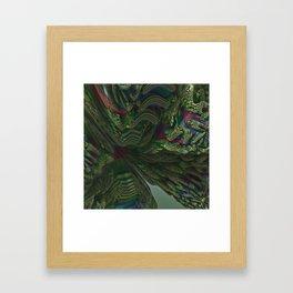 3D Fractal Stairway Framed Art Print