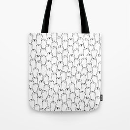 Otter pattern Tote Bag
