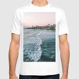 Cliffside Blue Ocean Wave Views  - T-shirt