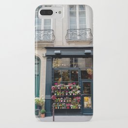 Flower Shop, Paris iPhone Case