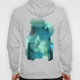 Abstract Jade Color Story Hoody