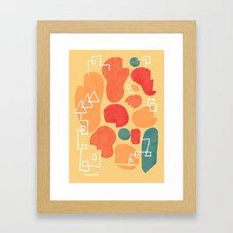 Secret Menu Framed Art Print