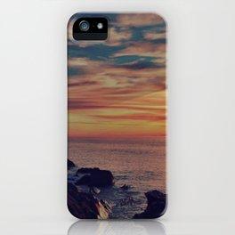 Californian Sunset - night iPhone Case