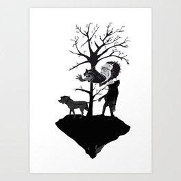 dogdays Art Print