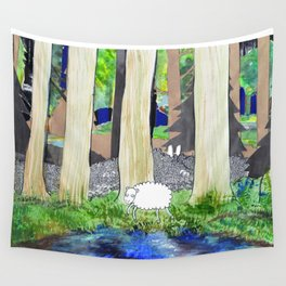 lost sheep Wall Tapestry