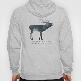 Elk and Mountains Hoody
