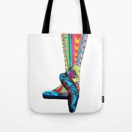 Happy Ballet II Tote Bag