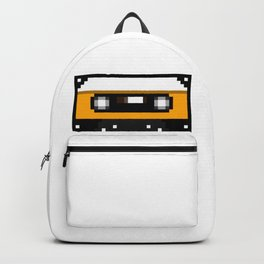 Yellow Cassette Backpack