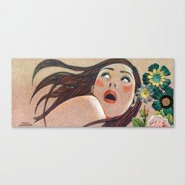 Catalina Sorprendida / Catalina Surprised Canvas Print
