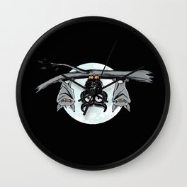 Cute Owl With Friends Wall Clock