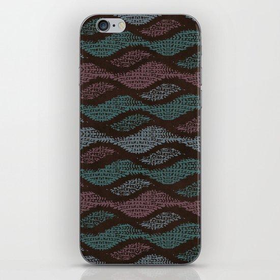 WOOL WAVES iPhone & iPod Skin