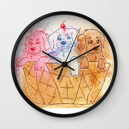 Neapolitan Labs Wall Clock