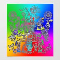 Xiuhtecuhtl Canvas Print