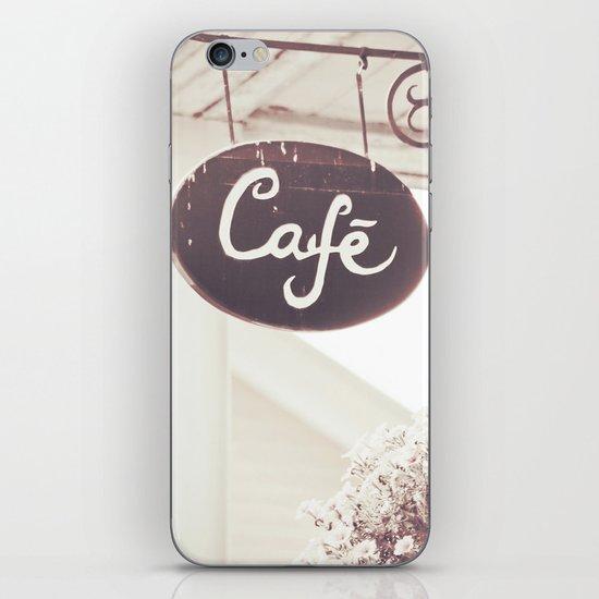 Coffee Shop iPhone & iPod Skin