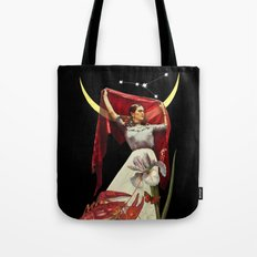 Fridas new moon Tote Bag