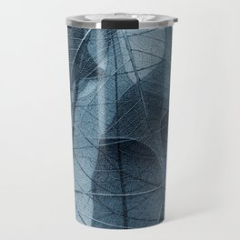 blue leaf III Travel Mug