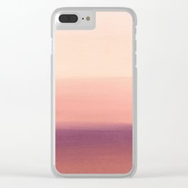 Sunday Morning Easy Clear iPhone Case