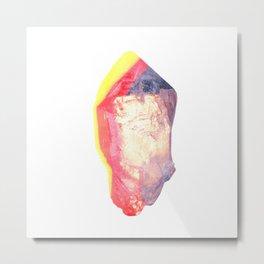 Rough crystal Metal Print