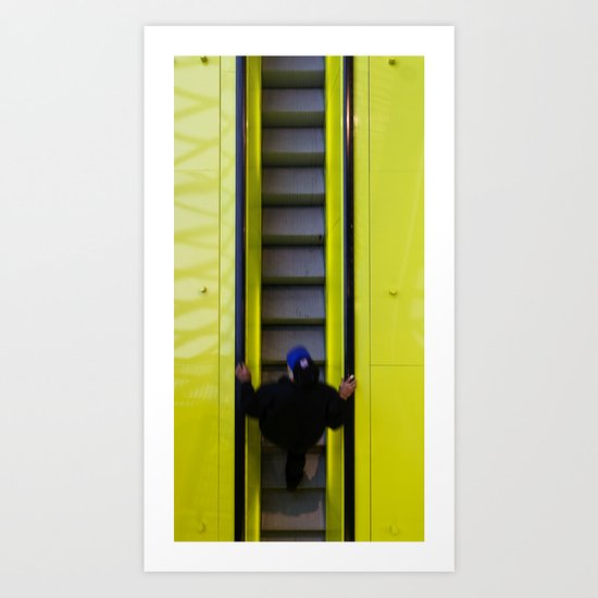 Going Up Art Print